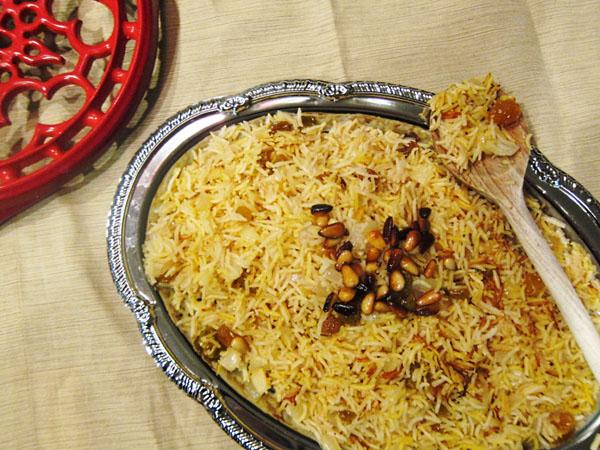 Mughlai Rice recipe