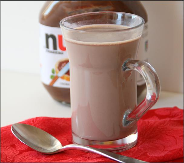 Nutella Cream Hot Shake