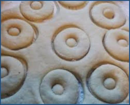 doughnuts cutting