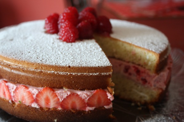 Strawberry.Mousse.Cake