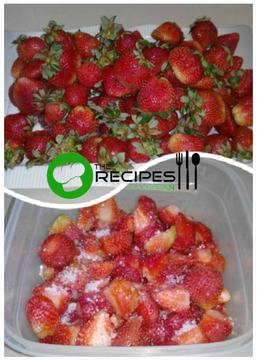 How to Freeze Strawberry